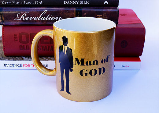 Man of God Golden Mug