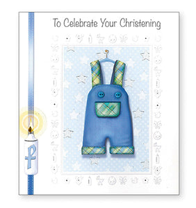 TO CELEBRATE YOUR CHRISTENING BOY