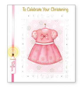 TO CELEBRATE YOUR CHRISTENING GIRL