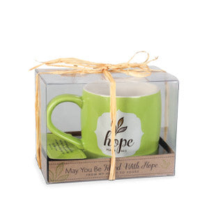 Hope mug -Filled with 10 Scripture Cards