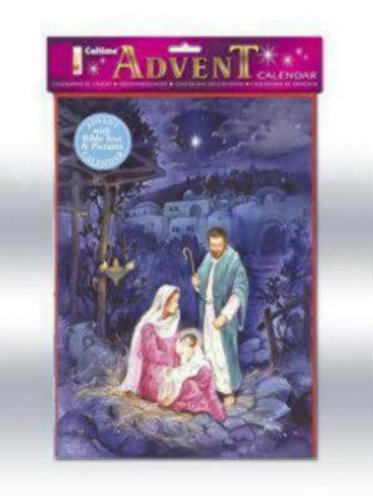 S552 Advent Calendar With Bible Text And Pictures