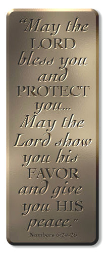 Bronze Wall Plaque For - I Know The Plans (Jeremiah 29:11)