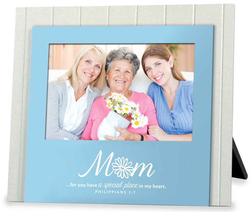 Photo Frame - Mum. Beadboard Series. 8.75in X 7.75in. Philippians 1:7