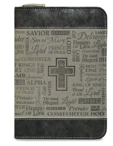Journal - Divine Details - 5.5 In X 7.5 - Names Of Jesus - Grey
