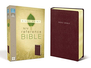 NIV-Giant Print Reference Bible