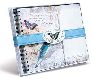 Divinity Boutique Journal & List Pad Gift Set, Vintage Travel