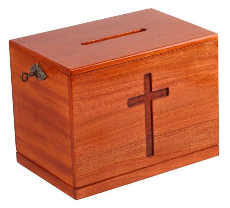Small Wooden Offering Box