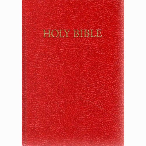 Royal Ruby Text Red Hardback