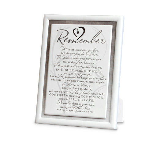 Remember/sympathy.Plaque -