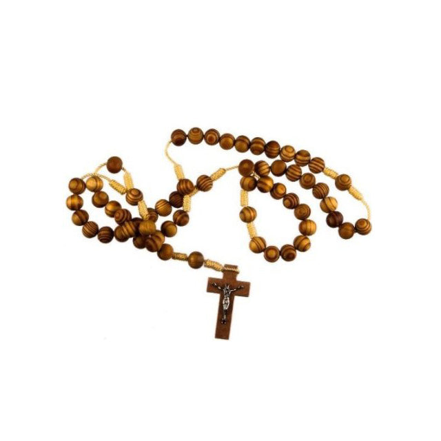 Wood Rosary bead