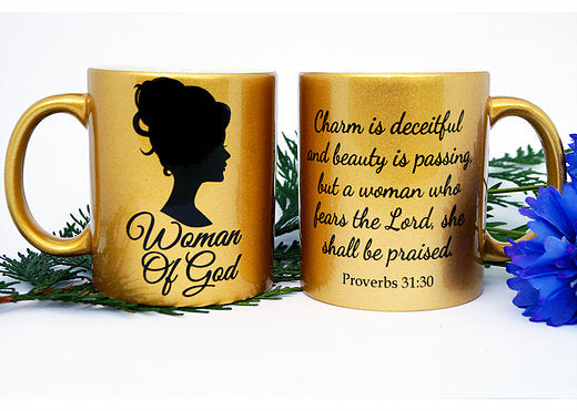 Woman of God Golden Mug