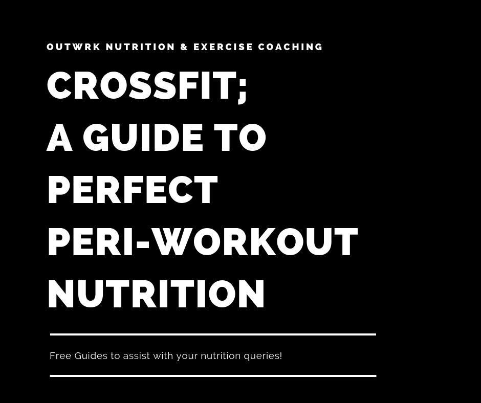The guide to perfect peri-workout nutrition for Crossfit (Free Guide Series) - Free Guide - OUTWRK, Yoga