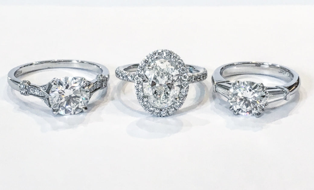 White Gold Vs Platinum What S The Difference Unique Engagement Rings Nyc Custom Jewelry By Dana Walden Bridal