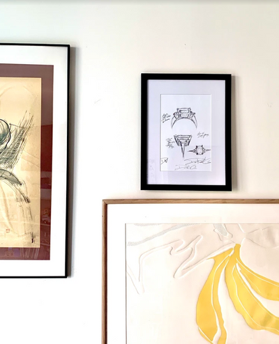 Order Framed Reproductions of DW Design Sketches