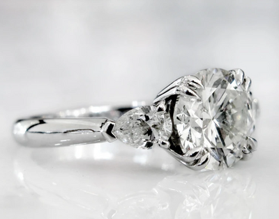 Trend: Three-Stone Engagement Rings