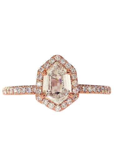 Cassia Diamond Handmade Engagement Ring by Dana Walden