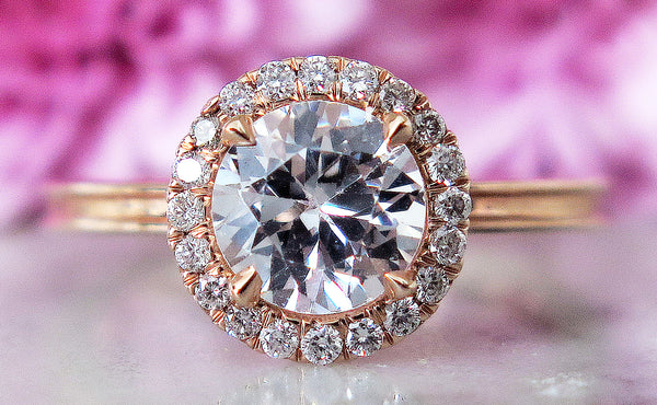 Should I select rose gold for my diamond engagement ring?