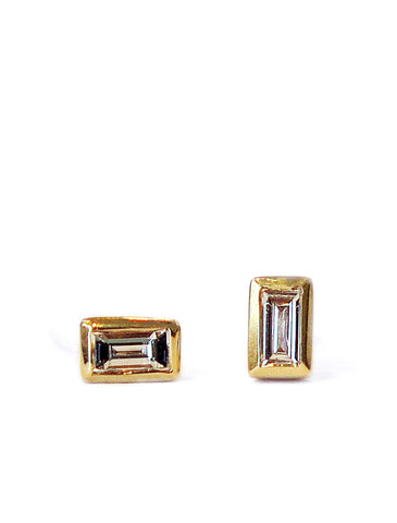 diamond stud earrings by Dana Walden jewelry
