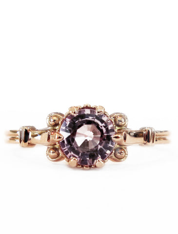 pietra gold and sapphire engagement ring by Dana Walden