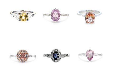 The Aura of Sapphires new designs - Sapphire fine jewelry for engagement or holiday gifts