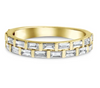 anniversary band with baguette diamonds