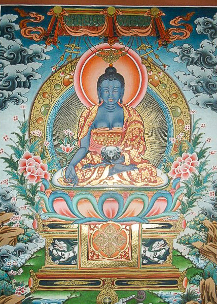 Ancient Painting of Buddha