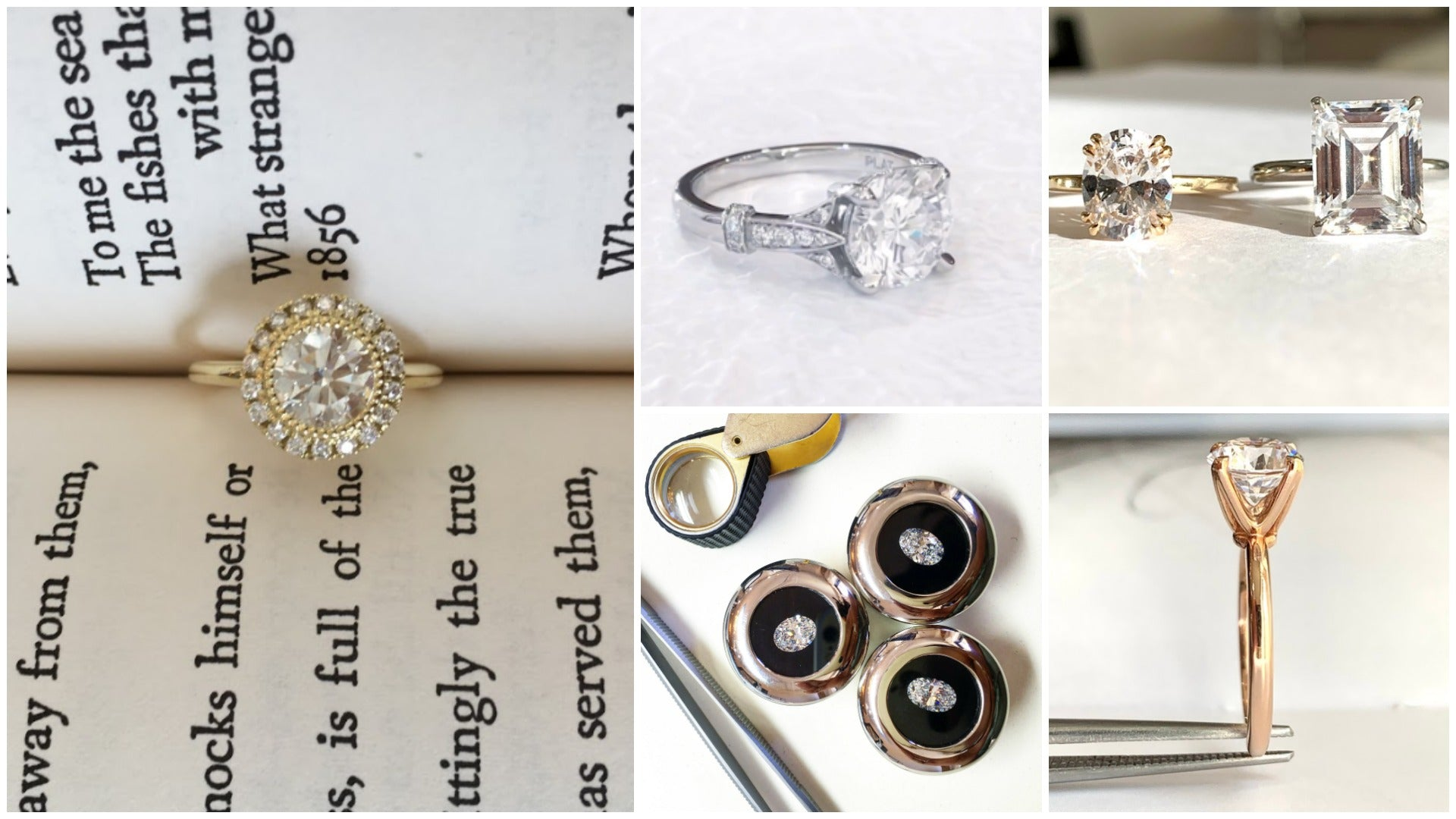 Dana Walden Bridal Engagement Rings