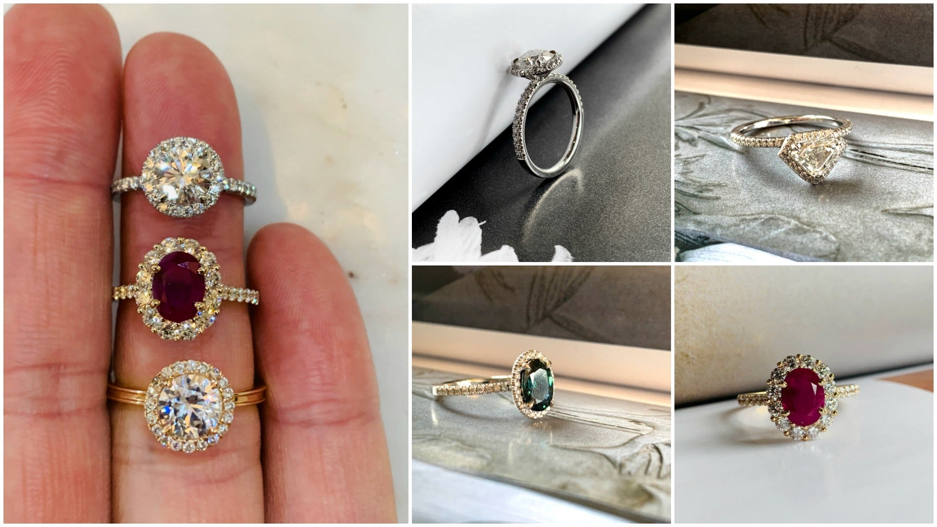 Halo Engagement Ring Designs - Dana Walden Bridal