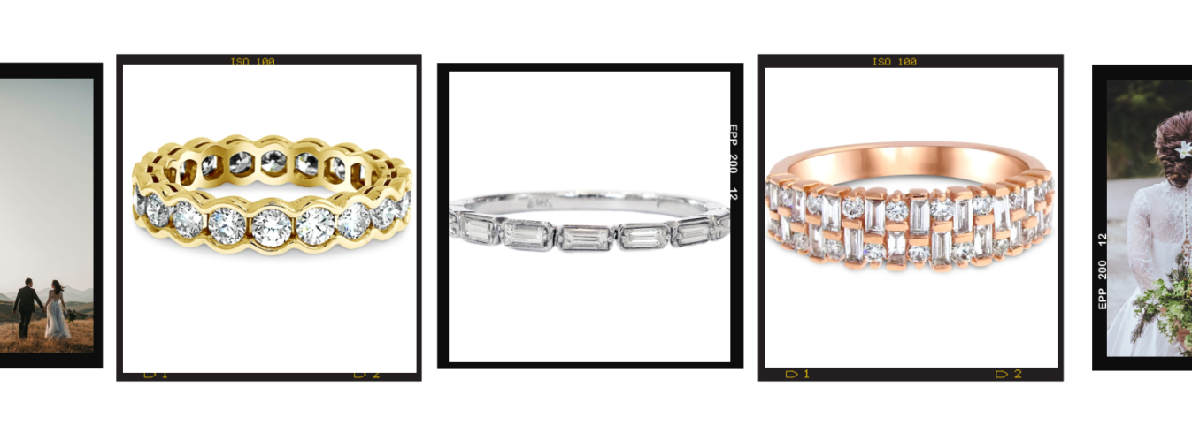New Dana Walden engagement and wedding band designs