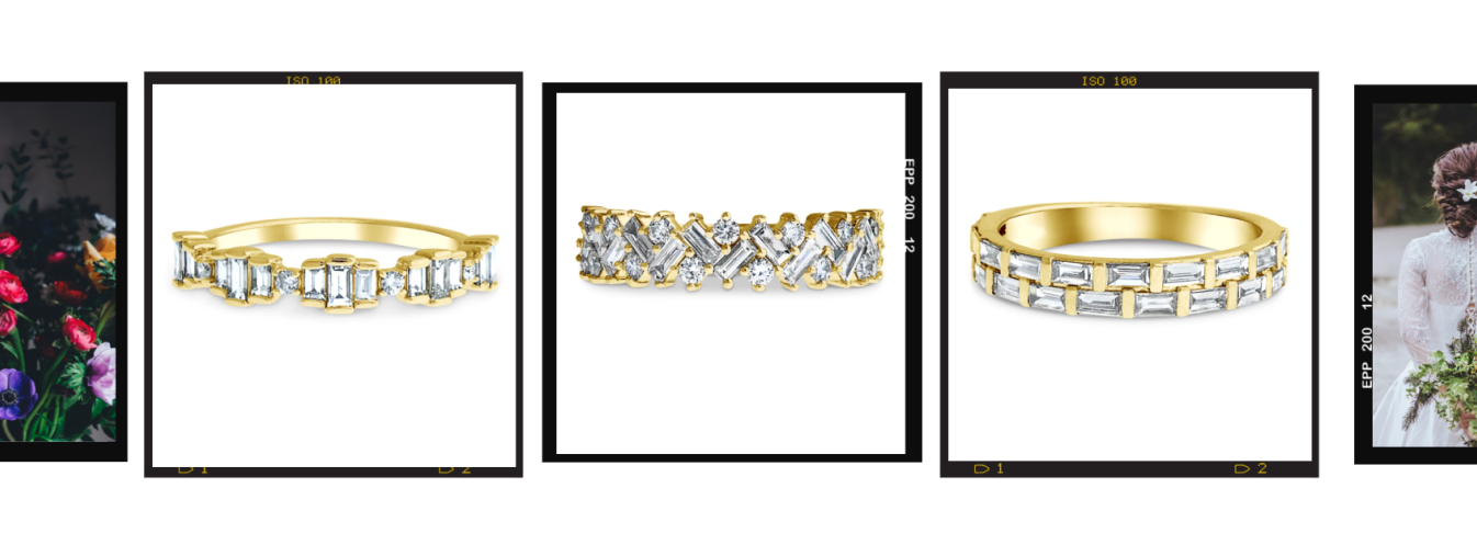 New Anniversary Engagement Bands by Dana Walden Jewelry
