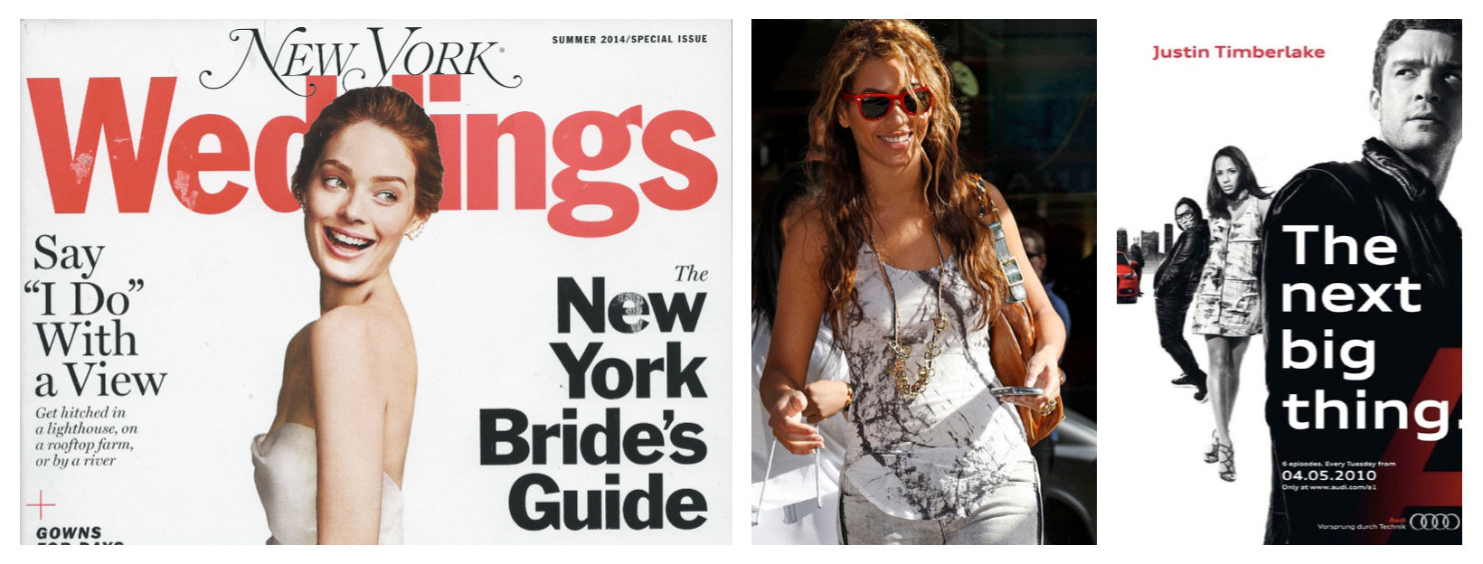 Dana Walden Jewelry worn by Beyonce, featured in commercials and magazines