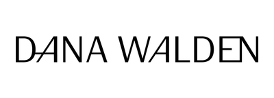 Dana Walden Jewelry NYC logo - Black font on white background that says Dana Walden