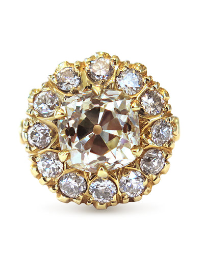 NEW - ALVA DIAMOND RING (4.25ct)