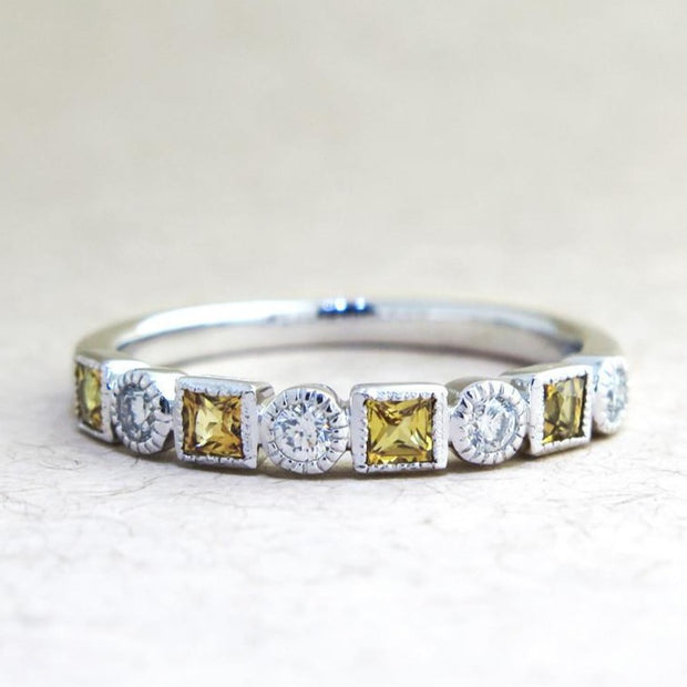 Asha Unique Vintage Inspired Wedding Ring - A Different Ring Design by Dana Chin + Radika Chin - Dana Walden Bridal - Alternative View