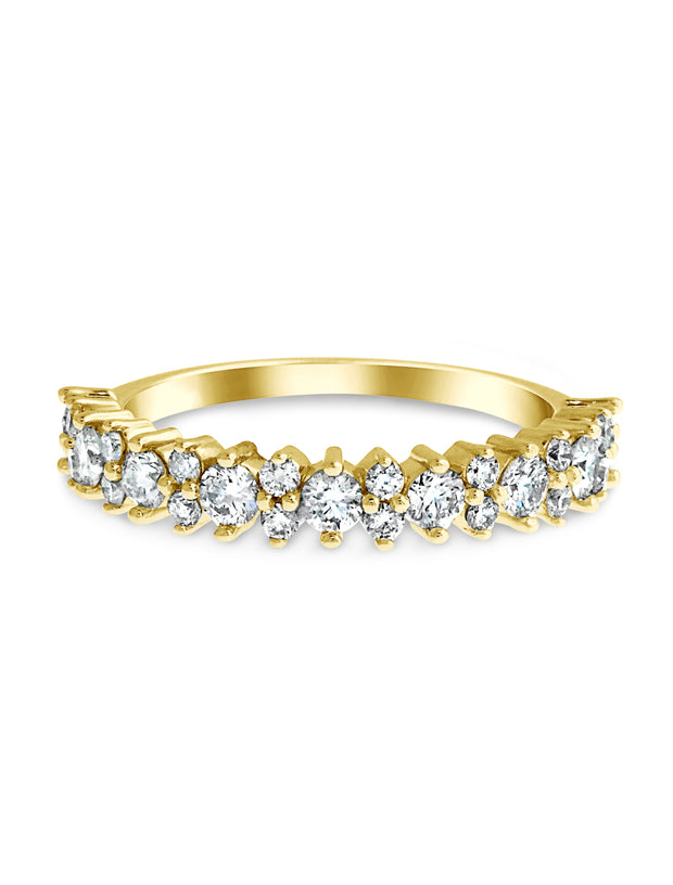 Cadenza Diamond Wedding Band (0.75ctw)