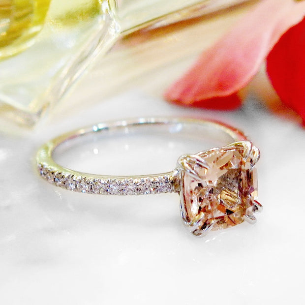 CAROLL MORGANITE RING