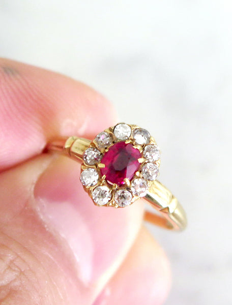 CYBILLE RUBY RING