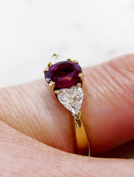 ELLA RUBY RING (1.38ct)