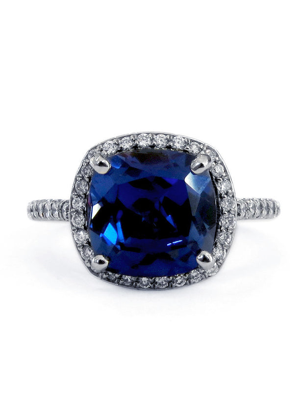 PAULETTE SAPPHIRE RING (4ct)