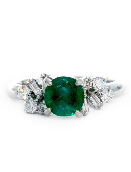 LAVERNA EMERALD RING