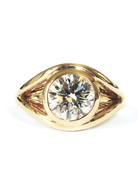 NICOLETTA DIAMOND RING