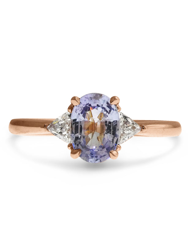 RORY PERIWINKLE SAPPHIRE RING (1.06ct)