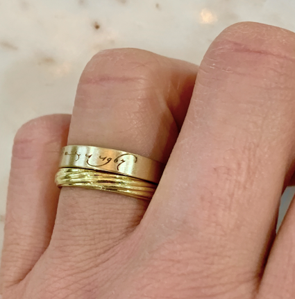 Loving Day (Loving v. Virginia) Wedding Band in 4mm