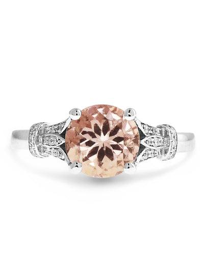 SHILOH MORGANITE RING (1.3ct)