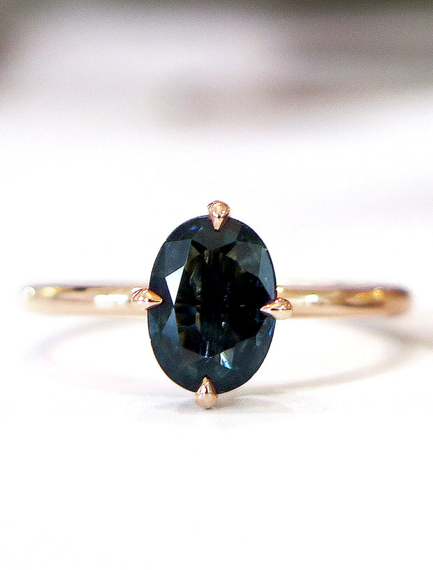 TIVA TEAL SAPPHIRE RING (1.25ct)