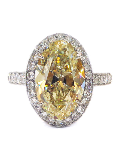 VEDA DIAMOND RING (4.53ct)