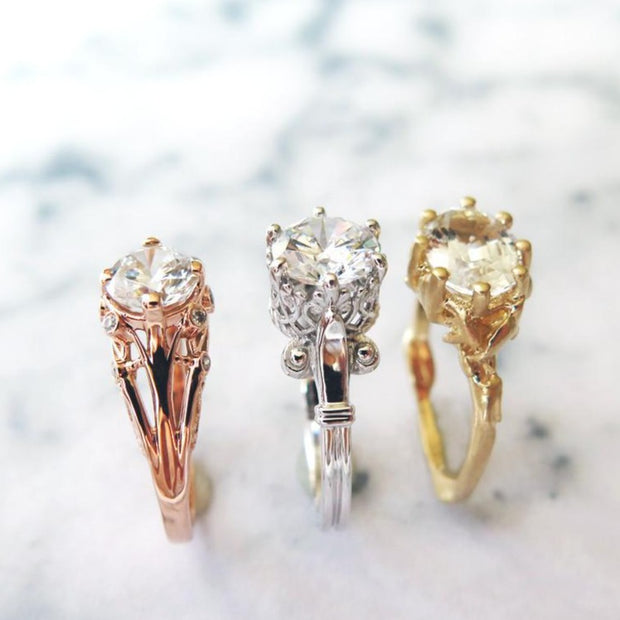 Vintage Inspired - Unique Engagement Rings - Yasmine, Lulu, Starla - Dana Walden Bridal - NYC