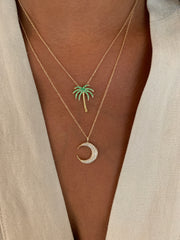 HAVANA PALM TREE NECKLACE