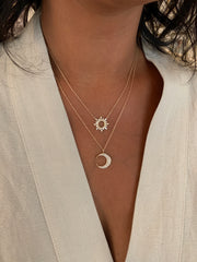 MOONLIGHT DIAMOND NECKLACE