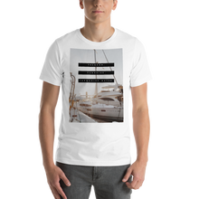 Load image into Gallery viewer, Freedom. Sunshine. Turquoise Water. | Men's Premium T-Shirt